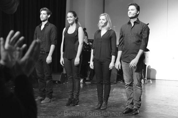 v.l.n.r.Philipp Dürnberger, Lisa Greslehner,Ulrike Figgener, Konstantin Zander
